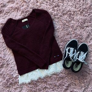 NWT HOLLISTER Knitted Sweater Top